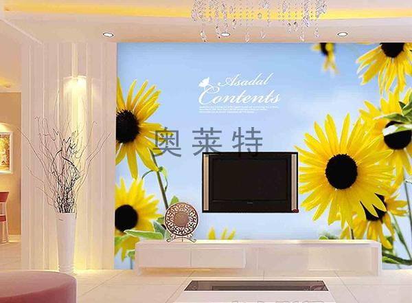 客厅背景墙风景壁画