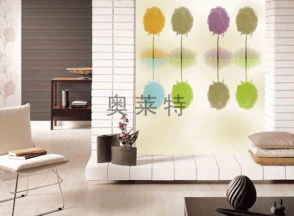 现代简约客厅壁画