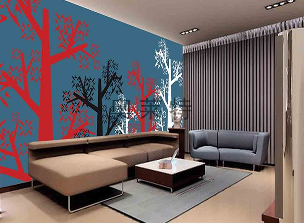 现代简约风格壁画