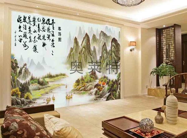 中式装修壁画