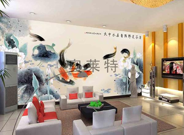 中式风格壁画