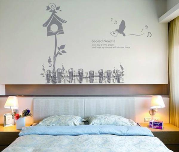 儿童房硅藻泥背景墙