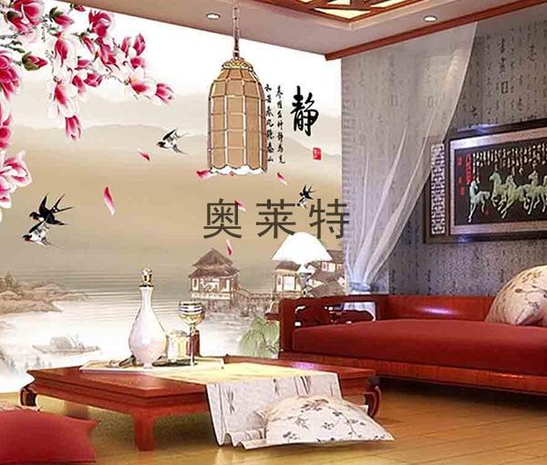 卧室书房背景墙装修