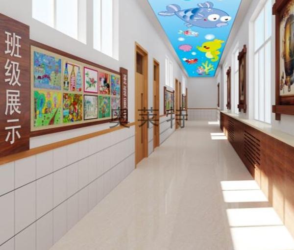 幼儿园吊顶壁画装修