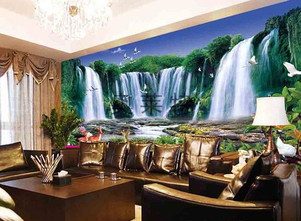 客厅大型壁画